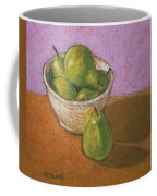 Pears In Bowl Coffee Mug