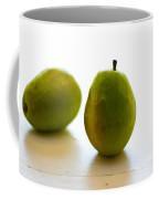 Pears On A White Background Coffee Mug