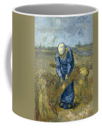 Peasant Woman Binding Sheaves - After Millet Coffee Mug