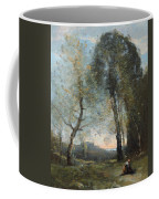 Peasant Woman Collecting Wood Coffee Mug