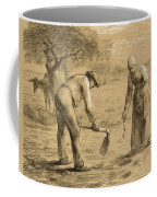 Peasants Planting Potatoes  Coffee Mug