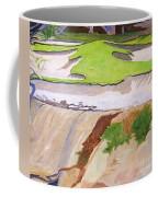 Pebble Beach Sand Coffee Mug