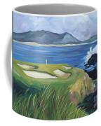 Pebble Beach Scene Coffee Mug