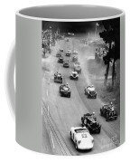 Pebble Beach California Sports Car Races Auto Road Race April 11 1954 Coffee Mug