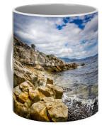 Pebbled Beach Under Dramatic Skies Number Two Coffee Mug