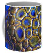 Pebbles Marbled Blue Coffee Mug