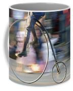Pedaling Past Coffee Mug