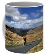Pedalling The Pass Coffee Mug
