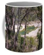 Pedernales River Pool In August Coffee Mug