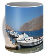 Pedi Harbour Symi Coffee Mug