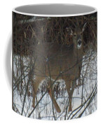 Peek A Boo Deer Coffee Mug