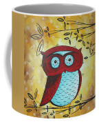 Peekaboo By Madart Coffee Mug