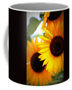 Peekaboo Sunflowers Coffee Mug