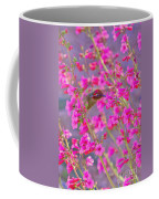 Peeking Through The Pink Penstemons Coffee Mug