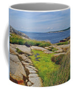 Peggy's Cove From Lighthouse-ns Coffee Mug