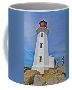 Peggy's Cove Lighthouse Closeup-ns Coffee Mug