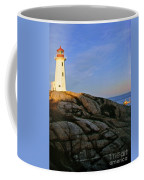 Peggy's Cove Lighthouse Coffee Mug