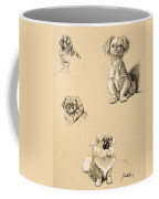 Pekes, 1930, Illustrations Coffee Mug