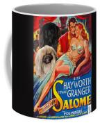 Pekingese Art - Salome Movie Poster Coffee Mug