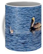 Pelican And Gull Coffee Mug