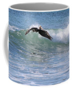 Pelican At Playa Grande Coffee Mug