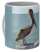 Pelican At The Gulf Coffee Mug