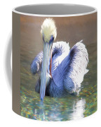 Pelican Blue Coffee Mug
