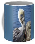 Pelican By The River Coffee Mug