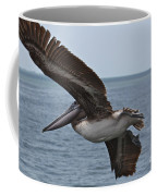 Pelican Fly By Coffee Mug