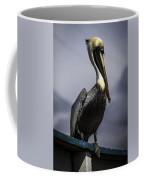 Pelican On Dock Coffee Mug