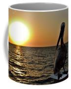 Pelican Sunset 2 Coffee Mug