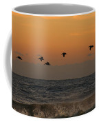 Pelicans At Sunrise 4674 Coffee Mug