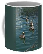 Pelicans On The Water In Key West Coffee Mug