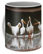 Pelicans Singing Auld Lang Syne Coffee Mug