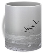 Pelicans With Full Bellies Coffee Mug