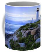 Pemaquid Light At Sunset Coffee Mug