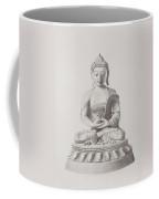 Pen And Ink Buddha Coffee Mug