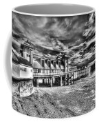 Penarth Pier 6 Monochrome Coffee Mug
