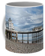 Penarth Pier Panorama 1 Coffee Mug
