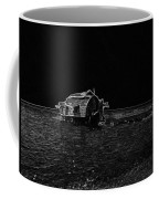 Pencil - A Houseboat Moving Placidly Through A Coastal Lagoon In Alleppey Coffee Mug