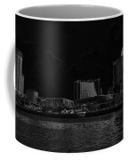 Pencil - Buildings Along The Waterfront In Singapore Coffee Mug