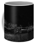 Pencil - Statue Of The Merlion And Its Viewing Platform Coffee Mug
