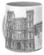 Pencil Drawing Of Old Jail Coffee Mug