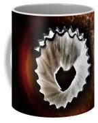 Pencil Shaving Heart Coffee Mug