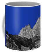 Pencil Sketch Of Dolomites Coffee Mug