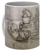 Pencil Still-life. Coffee Mug
