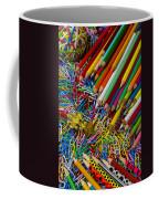 Pencils And Paperclips Coffee Mug