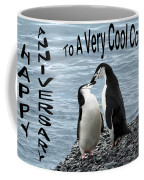 Penguin Anniversary Card Coffee Mug