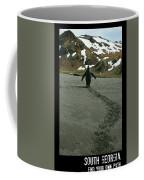 Penguin Travel Poster Coffee Mug