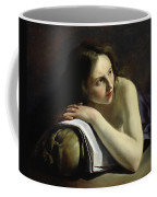 Penitent Magdalen Oil On Canvas Coffee Mug